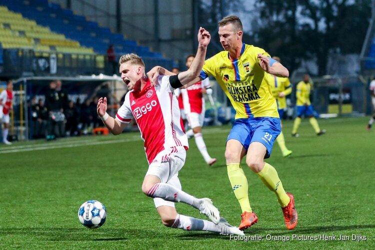 SC Cambuur laat zich in slotfase verrassen door Jong Ajax
