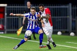 Heerenveen wint wél in beker, Emmen nipt geklopt na opmerkelijke handsbal